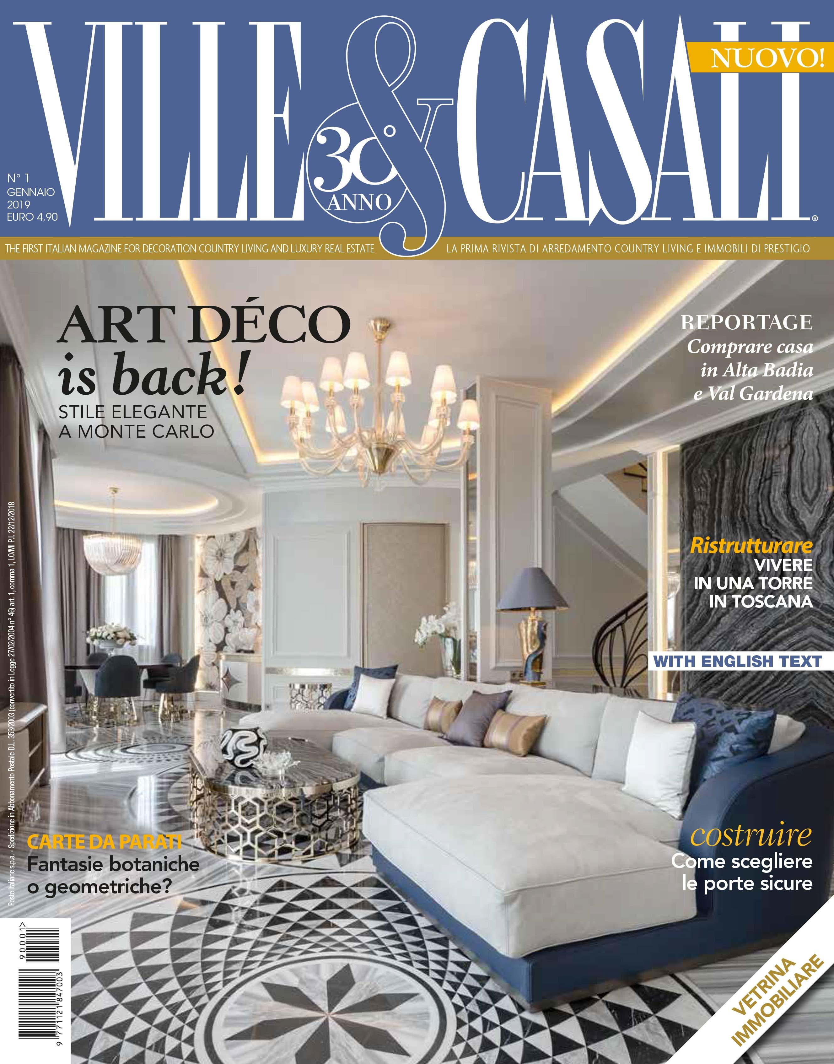 Arredamento Per Casali ville & casali n. 01 2019 - palazzo morelli interni e