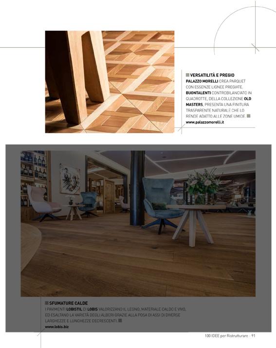 Buontalenti wood tile featured on 100 idee per for Idee per ristrutturare